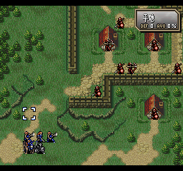 Fire Emblem: Thracia 776  in-game screen image #2