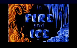Fire and Ice: The Adventures of Cool Coyote  title screen image #1