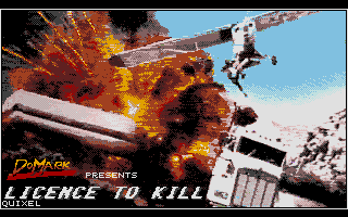 Licence to Kill  title screen image #1