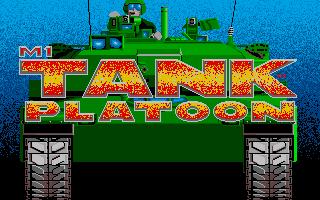 M1 Tank Platoon title screen image #1