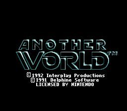 Another World  title screen image #1