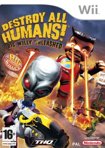 Destroy All Humans! Big Willy Unleashed package image #1