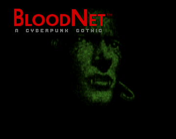 BloodNet  title screen image #1