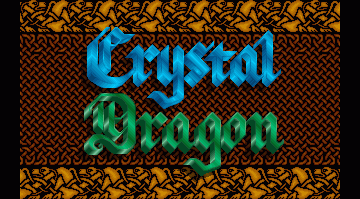 Crystal Dragon title screen image #1