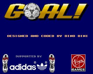 Goal! title screen image #1