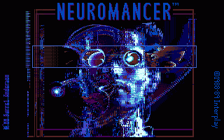 Neuromancer title screen image #1