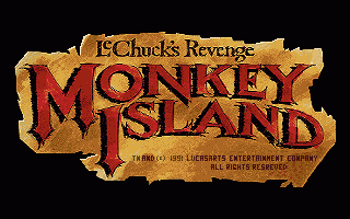 Monkey Island 2: LeChuck's Revenge title screen image #1