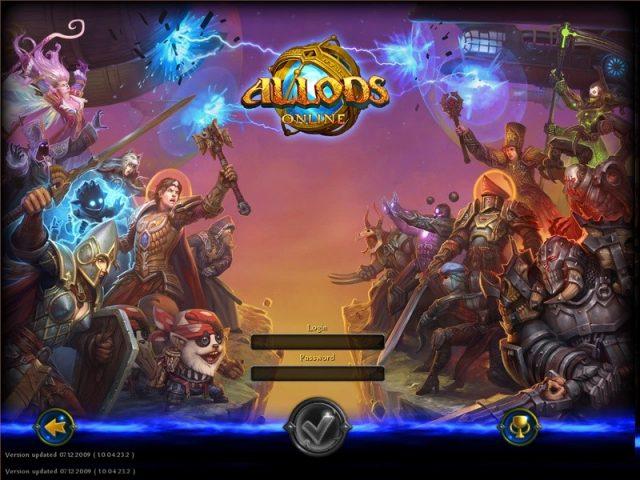 Allods Online  title screen image #1