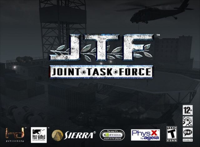 Joint Task Force  title screen image #1