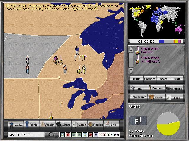 Entrepreneur in-game screen image #1