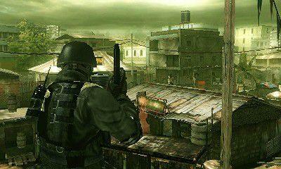 Resident Evil The Mercenaries 3D  in-game screen image #2