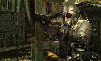 Resident Evil The Mercenaries 3D  in-game screen image #1