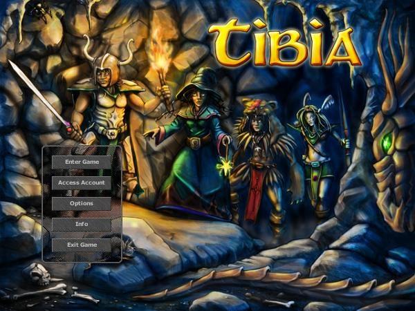 Tibia title screen image #1