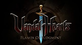 Vandal Hearts : Flames of Judgment title screen image #1