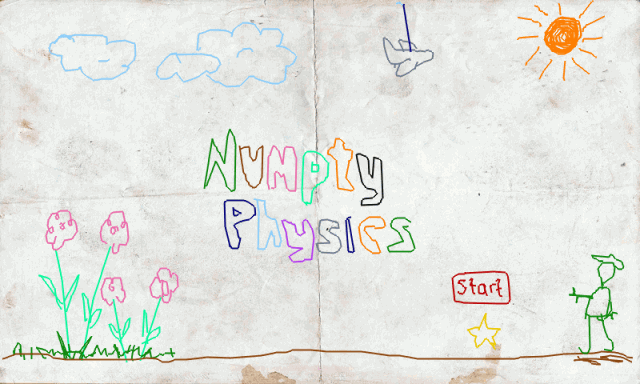 Numpty Physics  title screen image #1