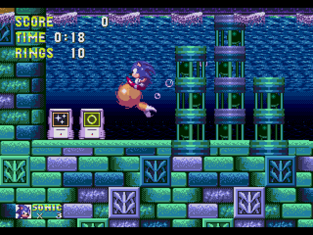 Sonic the Hedgehog 3  in-game screen image #2