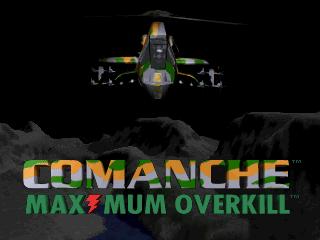 Comanche: Maximum Overkill title screen image #1