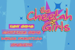 The Cheetah Girls title screen image #1