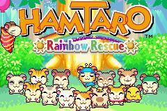 Hamtaro: Rainbow Rescue  title screen image #2