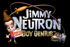 Jimmy Neutron: Boy Genius title screen image #1