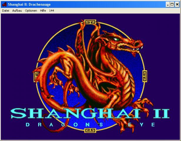 Shanghai II: Dragon's Eye  title screen image #1