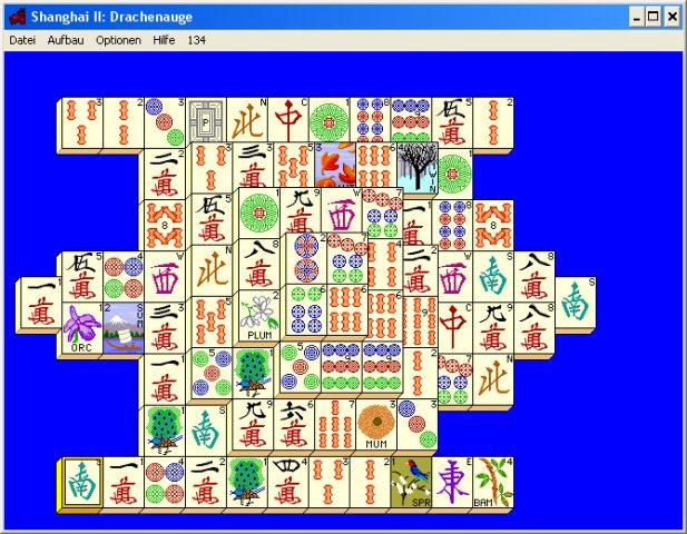 Shanghai II: Dragon's Eye  in-game screen image #2