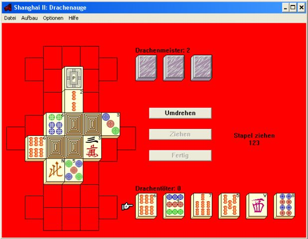 Shanghai II: Dragon's Eye  in-game screen image #1
