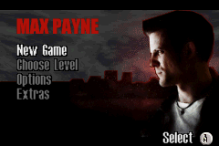 Max Payne Advance  title screen image #1