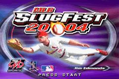 MLB SlugFest 20-04 title screen image #1