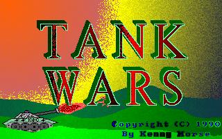 Tank Wars  title screen image #1