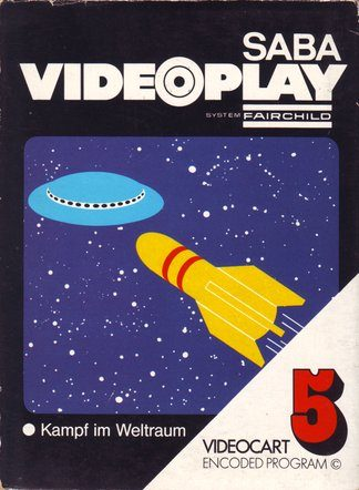 Videocart 5: Space War  package image #3