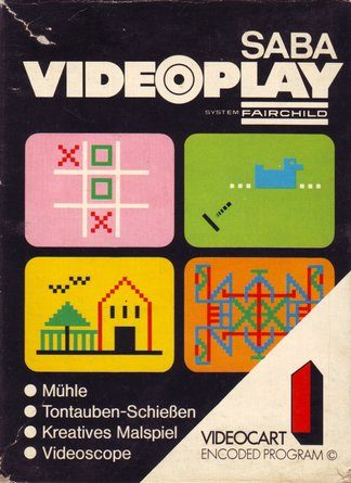 Videocart 1: Tic Tac Toe - Shooting Gallery - Doodle - Quadradoodle  package image #3
