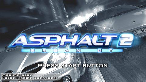 Asphalt - Urban GT 2  title screen image #1