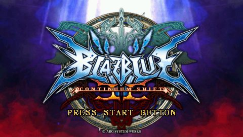 BlazBlue: Continuum Shift II title screen image #1
