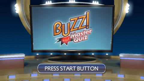 Buzz! Master Quiz title screen image #1