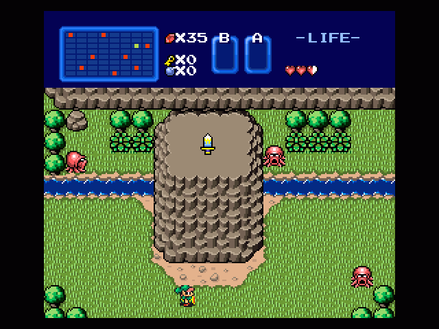 Ocarina of Power in-game screen image #1
