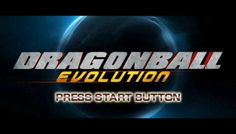 Dragon Ball: Evolution title screen image #1