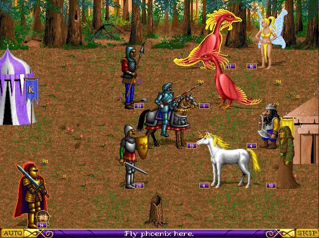 Heroes of Might and Magic  in-game screen image #2