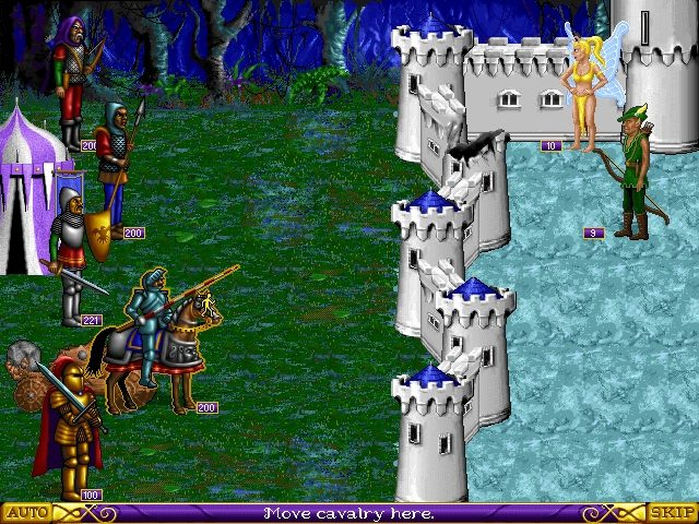 Heroes of Might and Magic  in-game screen image #1