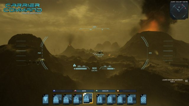 Carrier Command: Gaea Mission  in-game screen image #2