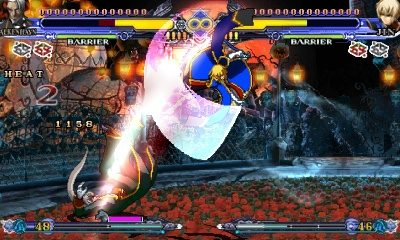 BlazBlue: Continuum Shift II in-game screen image #3