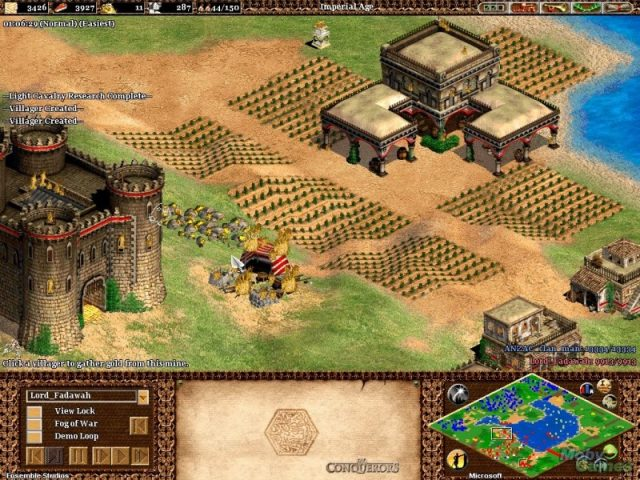 Age of Empires II: The Age of Kings  in-game screen image #2