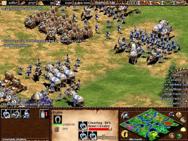 Age of Empires II: The Age of Kings  in-game screen image #1