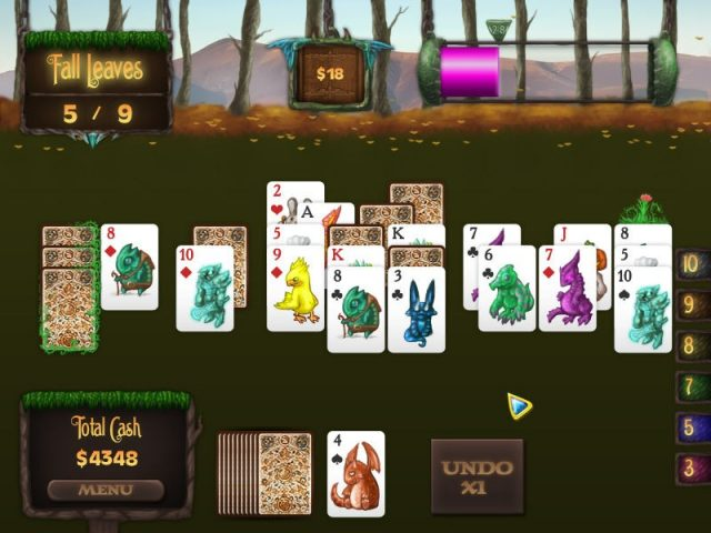 Faerie Solitaire in-game screen image #1