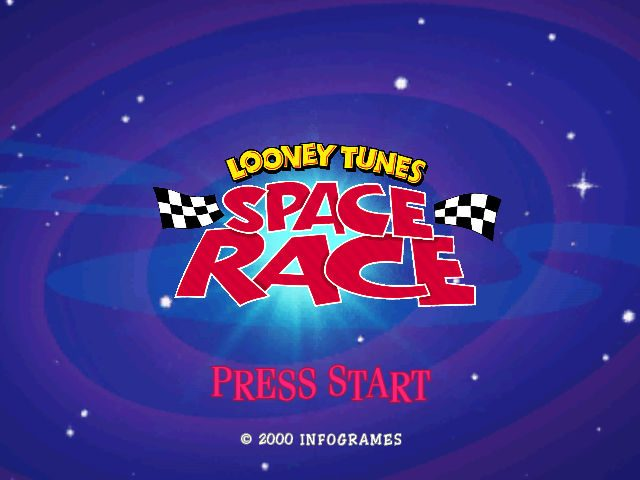 Looney Tunes: Space Race title screen image #1