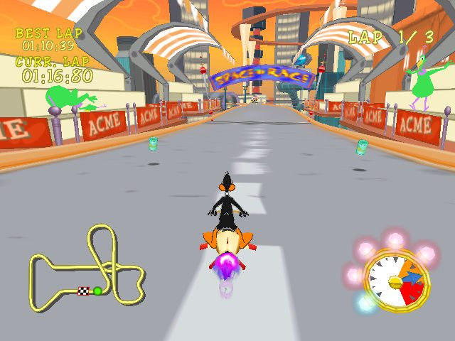 Looney Tunes: Space Race in-game screen image #1
