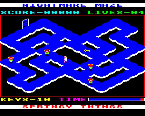 Nightmare Maze in-game screen image #1