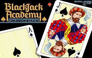 Blackjack Academy title screen image #1