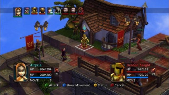 Vandal Hearts : Flames of Judgment in-game screen image #2