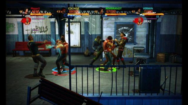 The Warriors: Street Brawl in-game screen image #1